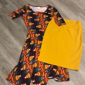 LuLaRoe size medium lot of 2